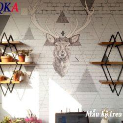 Kệ trang trí treo tường.