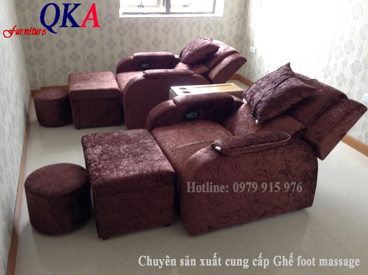 Mẫu ghế massage foot