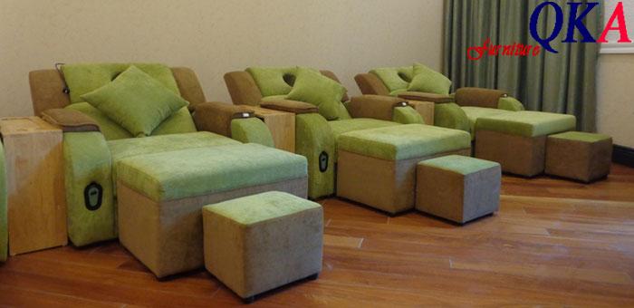 ghế massage chân