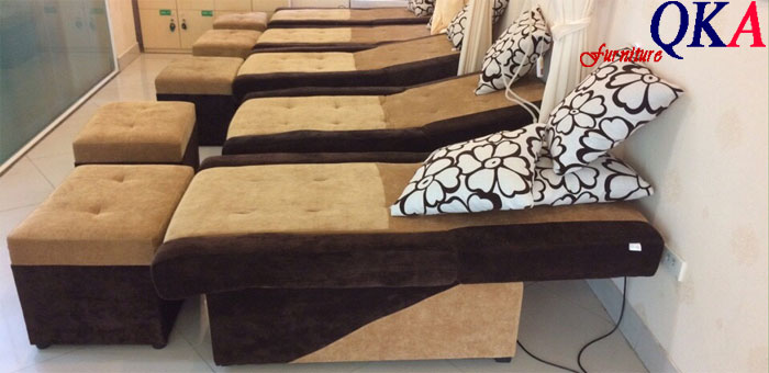 ghế làm foot massage