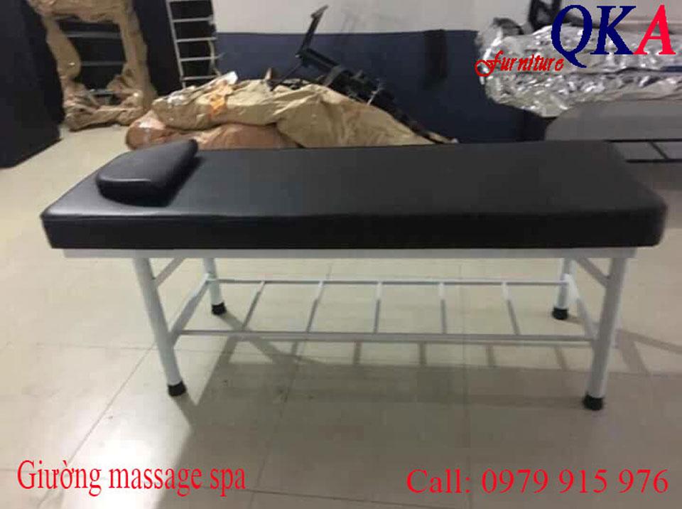 giường mát xa giá rẻ, giường spa, giường massage chân sắt