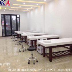 Giường matxa gỗ – QKA 03