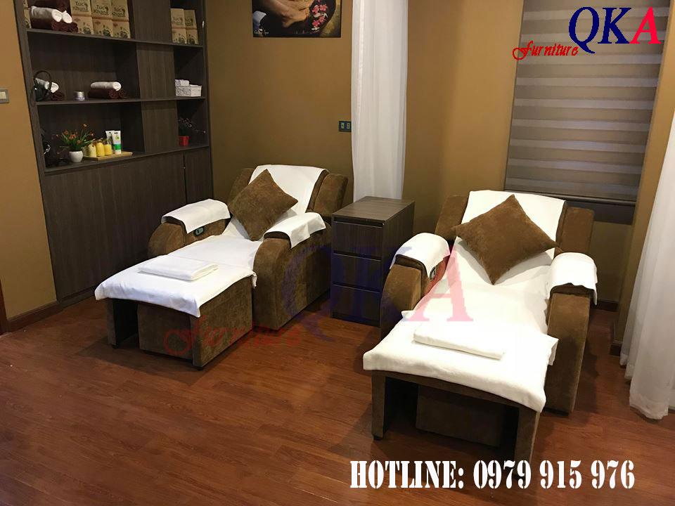 Mẫu ghế massage chân