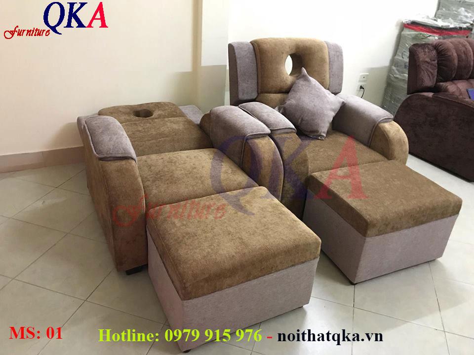 mẫu ghế foot spa