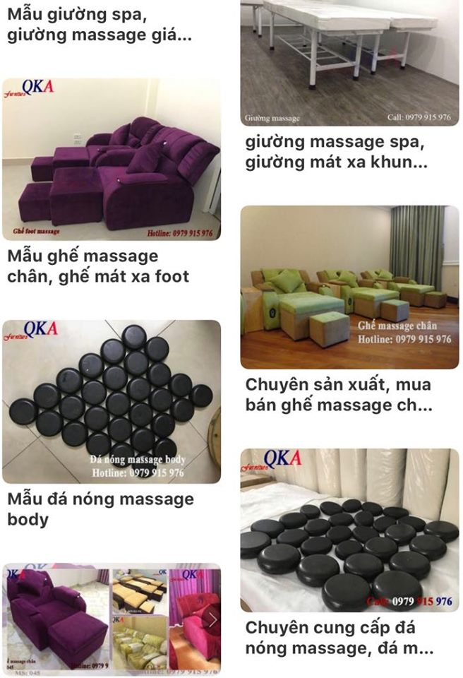 ghe massage chan