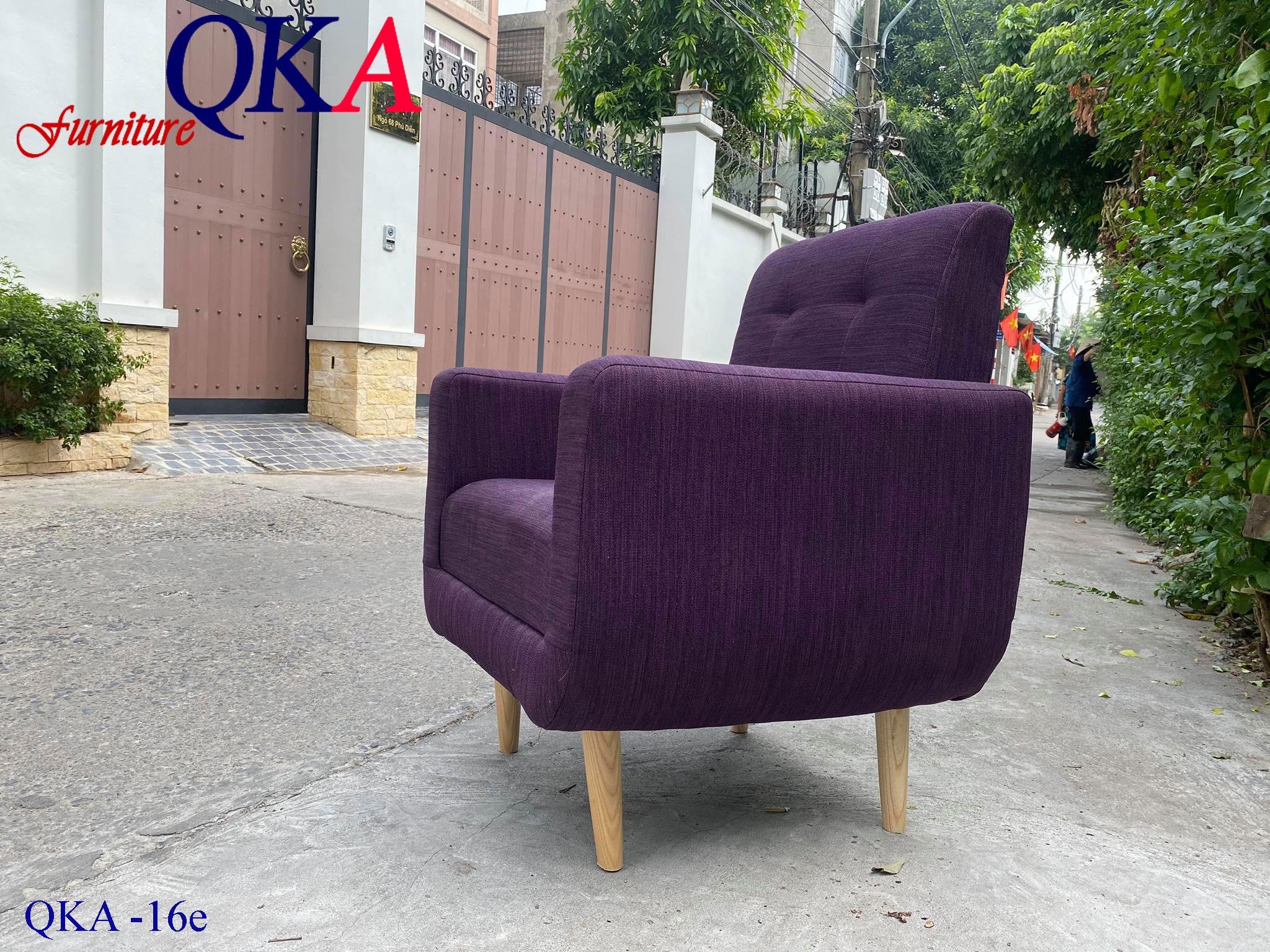 Mẫu ghế đơn Sofa – QKA 16e