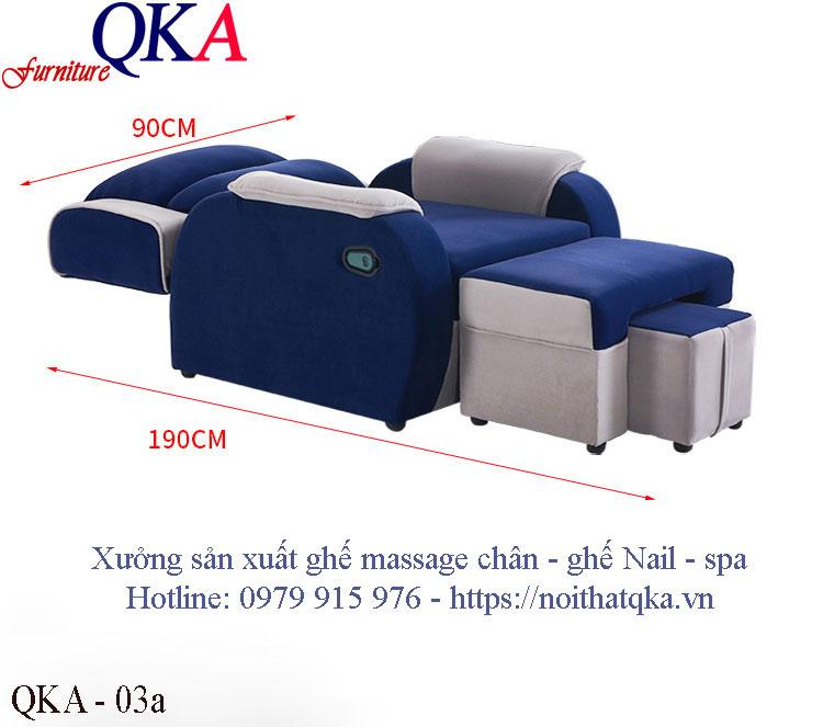 Ghế massage chân – QKA 03a