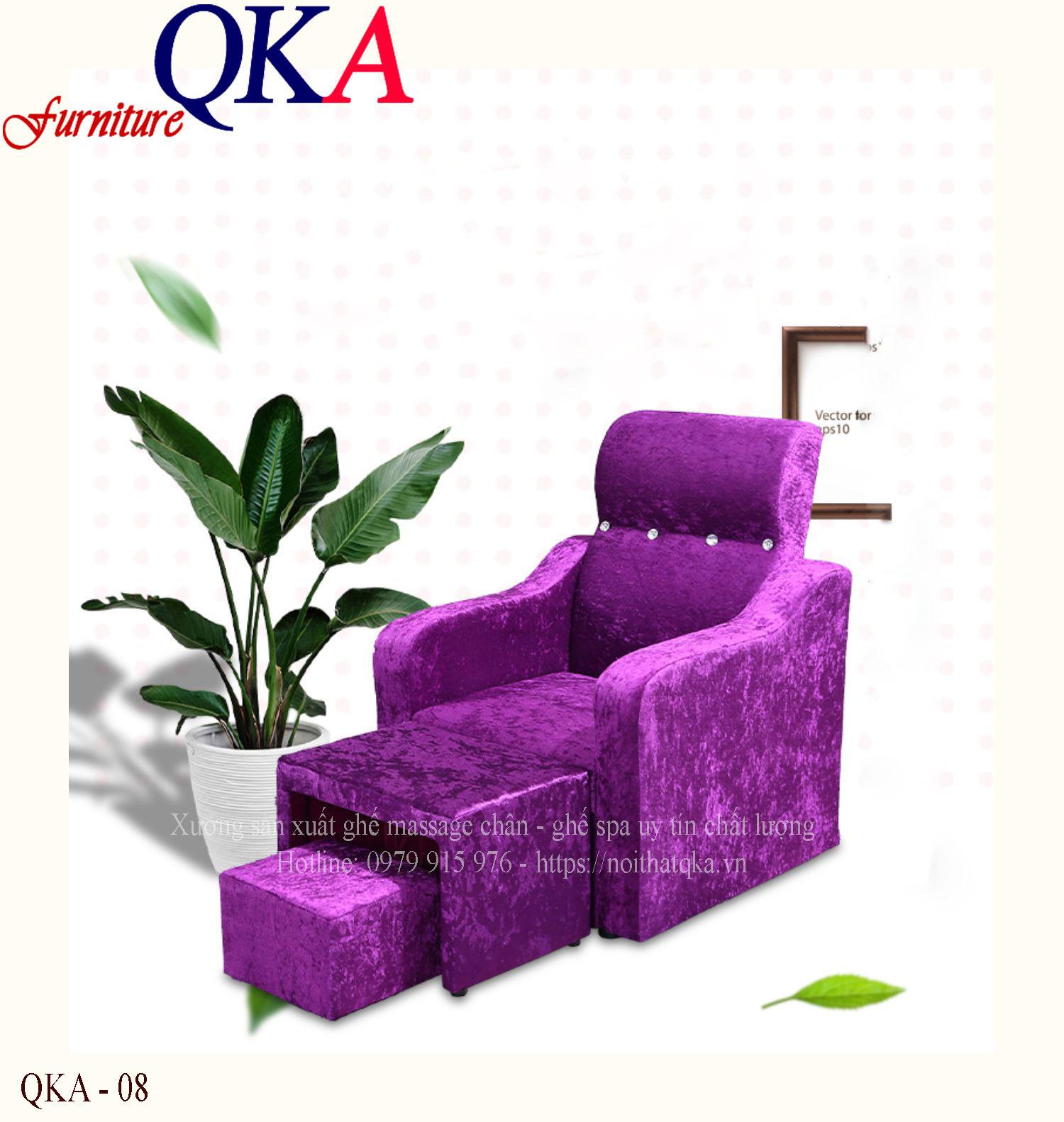 Ghế Massage Foot – QKA 08